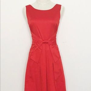 Kate Spade Classic Red Bow Dress, Size 2